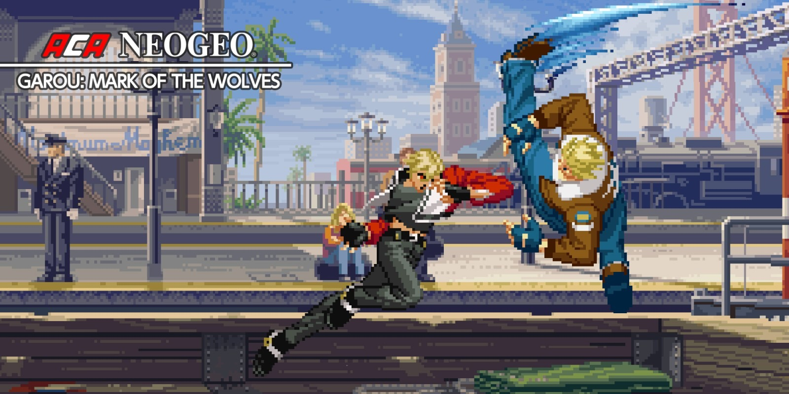 Le Retrrogaming avec Garou Mark of the Wolves sur SNK Neo Geo