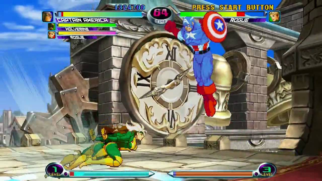 Le Retrrogaming avec Marvel vs Capcom 2 sur Sega Dreamcast
