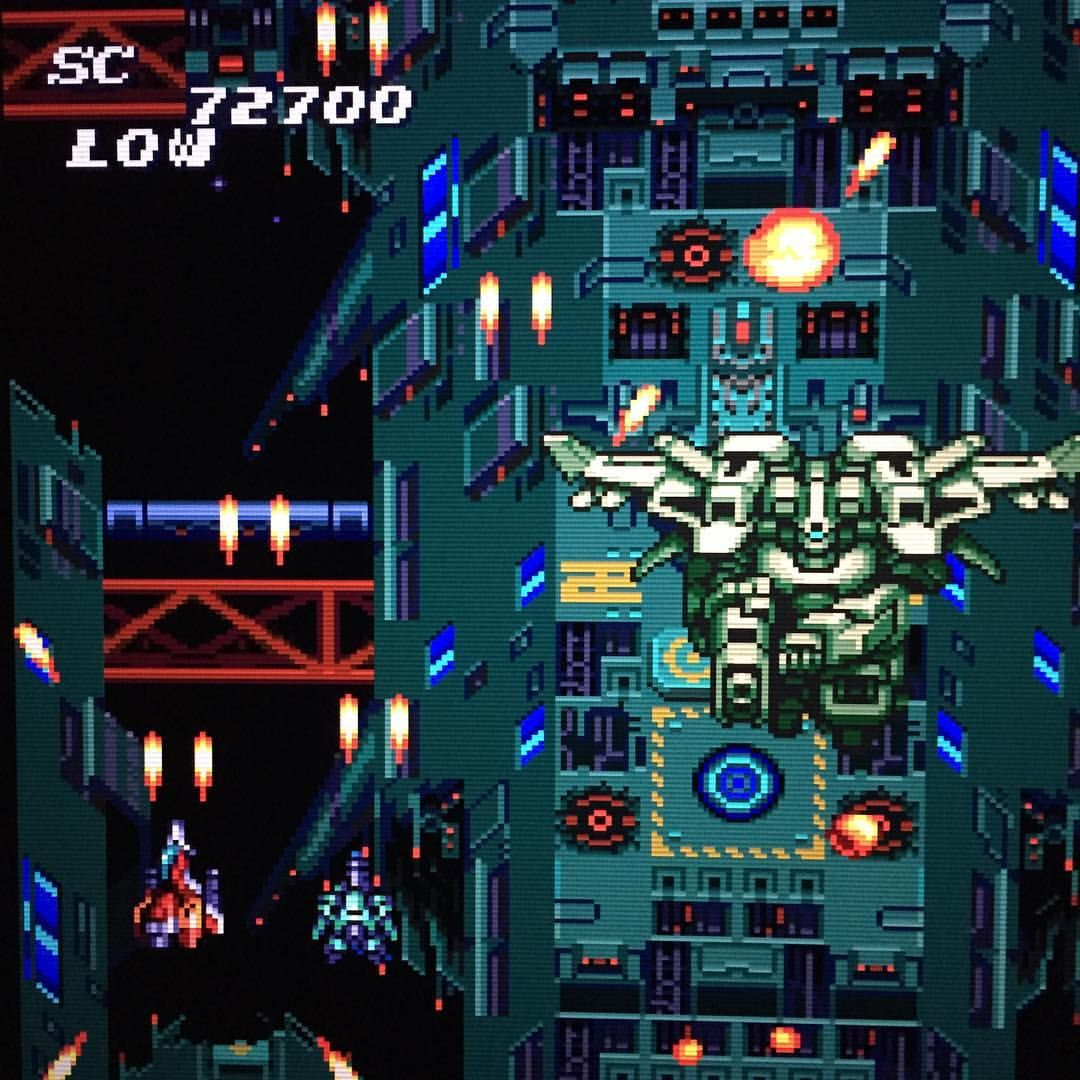 Le Retrrogaming avec Soldier Blade sur NEC PC Engine