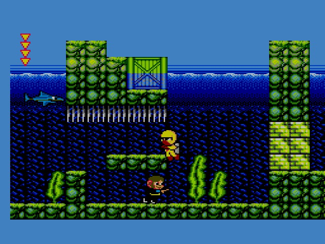 Le Retrogaming avec Alex Kidd in Shinobi World sur Sega Master System