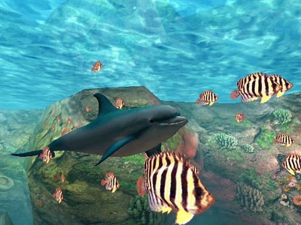 Le Retrogaming avec Ecco the Dolphin sur Sega Dreamcast
