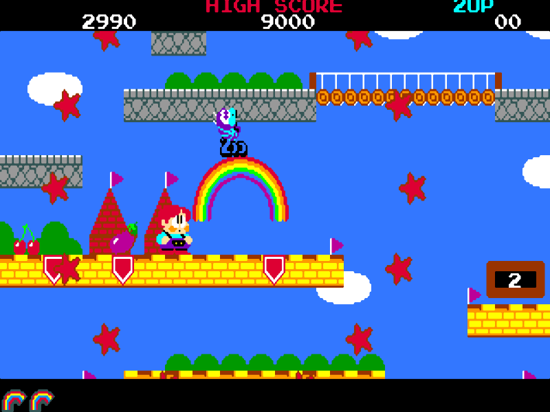 Le Retrogaming avec Rainbow Islands sur Commodore Amiga
