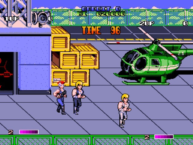 Le Retrogaming avec Double Dragon II : The Revenge sur Borne d'Arcade