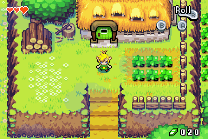 Le Retrogaming avec Legend of Zelda, The Minish Cap sur Nintendo Gameboy Advance