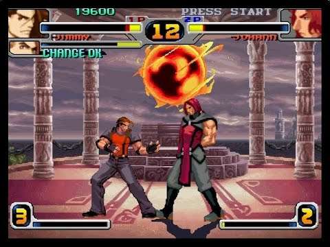 Le Retrogaming avec Rage of the Dragons sur SNK Neo Geo